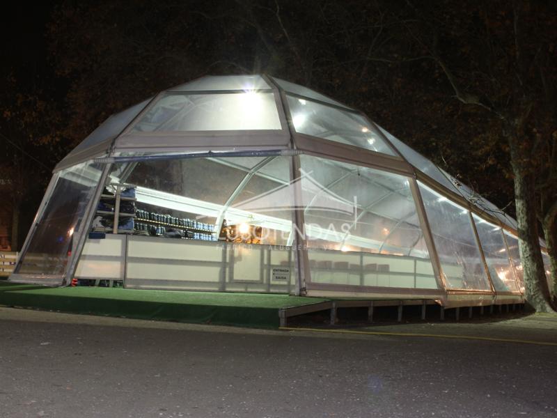 Tenda IGLO Transparente009